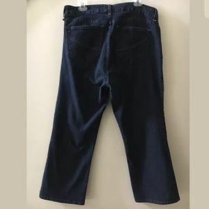 NYDJ Jeans - NYDJ Dark Wash Lift Tuck Straight Leg Jeans